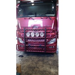 PARE BUFFLE ALU ANODISE HYPRO MERCEDES ACTROS MP4