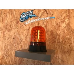 GYROPHARE ORANGE 3 ETAGES LEDS A POSER