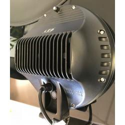 PHARE LONGUE PORTEE AUTOLAMP FULL LEDS BLANC + ANGEL EYES 229MM