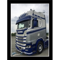 VISIERE POLYESTER SCANIA NTG 350MM EMPLACEMENT 2 VEILLEUSES