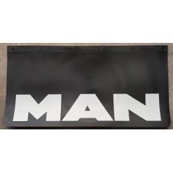BAVETTE NOIRE MARQUAGE MAN BLANC 600 x 300