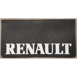 BAVETTE NOIRE MARQUAGE RENAULT BLANC 600 X 300