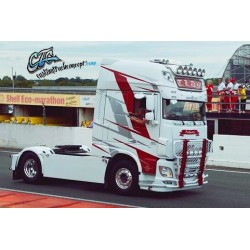 SPOILER POLYESTER DAF XF EURO6