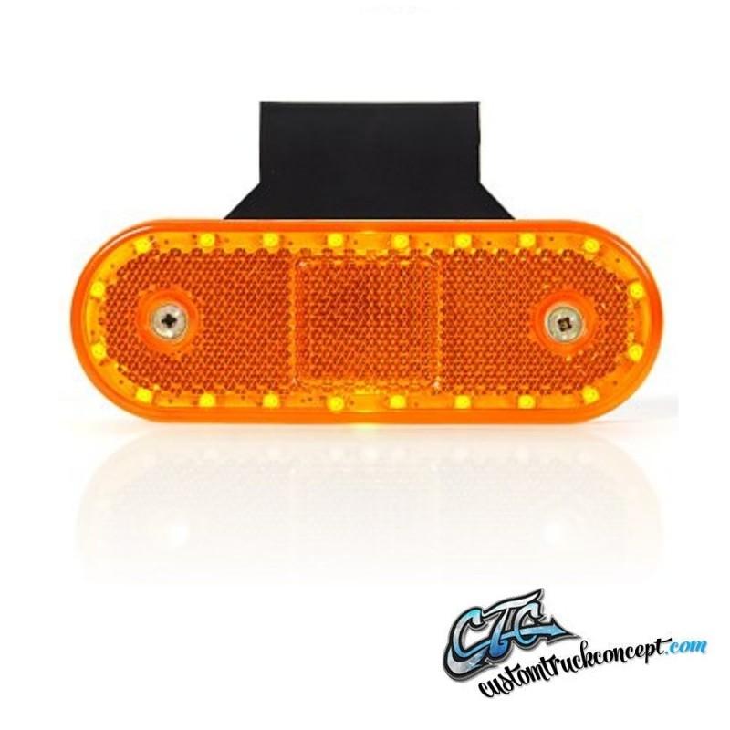 Marqueur latéral Strands LED 12-24V Incl. équerre