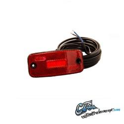 Pos. LED rouge 5LED 12-24V, coupe pas plus courte que 0,5m