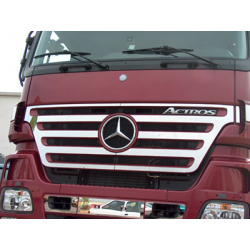 HABILLAGE INOX CALANDRE MERCEDES ACTROS MP2 L