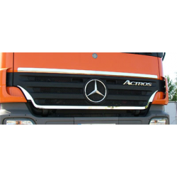 HABILLAGE INOX CALANDRE MERCEDES ACTROS MP2 LH