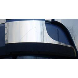 HABILLAGE INOX RETOUR HAUT CALANDRE MERCEDES ACTROS MP2 L/LH