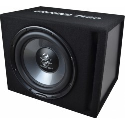 """Caisson Subwoofer 30cms /12"""" Ground Zero 300Watts RMS"""