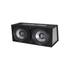 """Caisson Double 2 x Subwoofer 30cms /12"""" Ground Zero 700Watts RMS"""