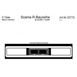 HABILLAGE TABLEAU DE BORD SCANIA R CLIM MANUELLE NOYER