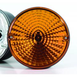 feu flash a eclats extra plat orange 12 24v 6 leds. Black Bedroom Furniture Sets. Home Design Ideas