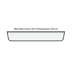 ENSEIGNE LUMINEUSE LEDS MERCEDES ACTROS 2012 STREAMSPACE 230    110 X 20