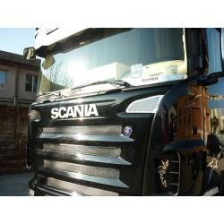 Pare-pierre inox poli avec logos Super Scania R & R2.