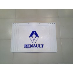 BAVETTE BLANCHE RETAILLABLE 600/500X400 MARQUAGE RENAULT BLEU