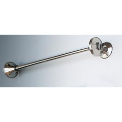 KLAXON LAITON CHROME TROMPE LONGUE 750MM