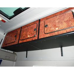 PLACARD ARRIERE 3 PORTES DAF XF 105 SUPER SPACE CAB NOIR