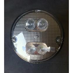 FEU ARRIERE HAMBURGER SIM LEDS ANTI-BROUILLARD + RECUL ROND TRANSLUCIDE