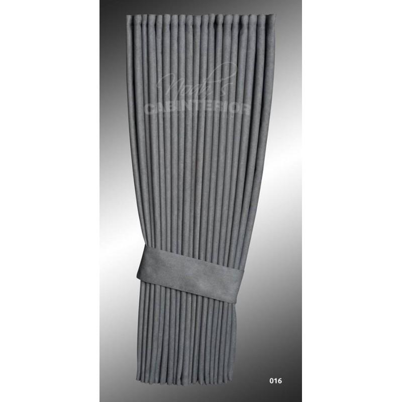 rideaux lateraux hollandais gris noah 39 s cabinterior rideaux lat rau. Black Bedroom Furniture Sets. Home Design Ideas
