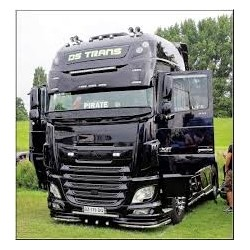 VISIERE POLYESTER DAF XF 105 & EURO 6 HAUTEUR 420MM