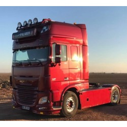 VISIERE POLYESTER DAF XF 105 & EURO 6 HAUTEUR 320MM 7 VEILLEUSES