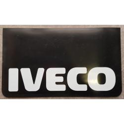 BAVETTE NOIRE MARQUAGE IVECO BLANC 600 X 300