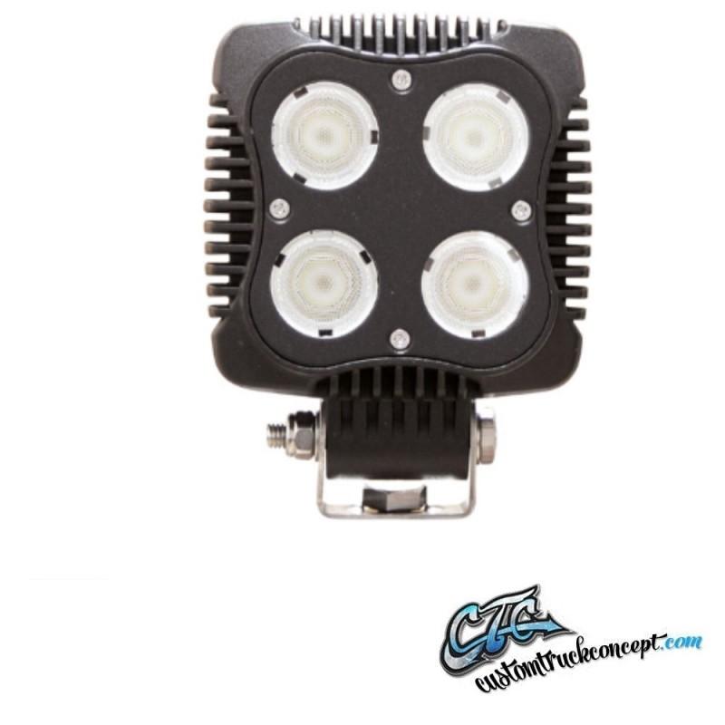 40w Lampe De Led Avec Travail Dt Connecteur CerdxBo