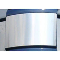 HABILLAGE INOX CONTOUR CALANDRE MERCEDES ACTROS MP2 LH