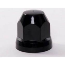Cache-écrou Plastique 32mm - Noir