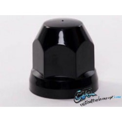 Cache-écrou Plastique 33mm - Noir