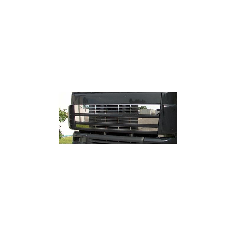 HABILLAGE INOX HAUT DE PORTES DAF XF 95
