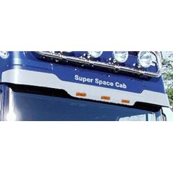 HABILLAGE INOX VISIERE DAF XF 95 SUPER SPACE CAB