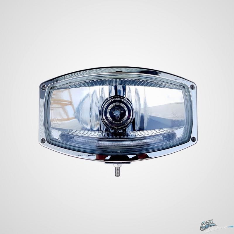 phare longue portee chrome type 320 veilleuse leds phare. Black Bedroom Furniture Sets. Home Design Ideas