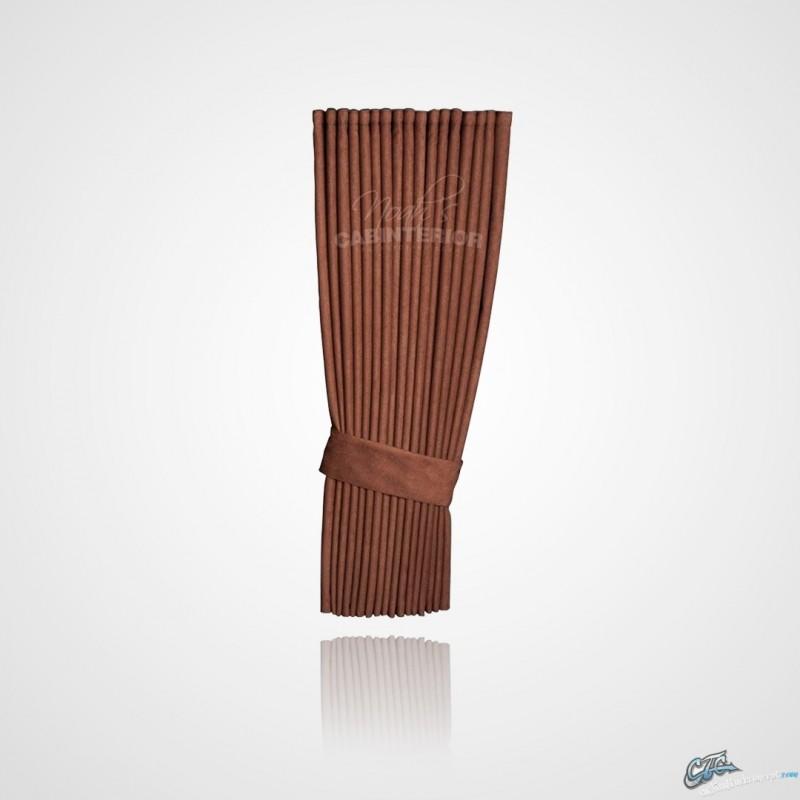 rideaux lateraux hollandais chocolat rideaux lat raux hollandais ch. Black Bedroom Furniture Sets. Home Design Ideas
