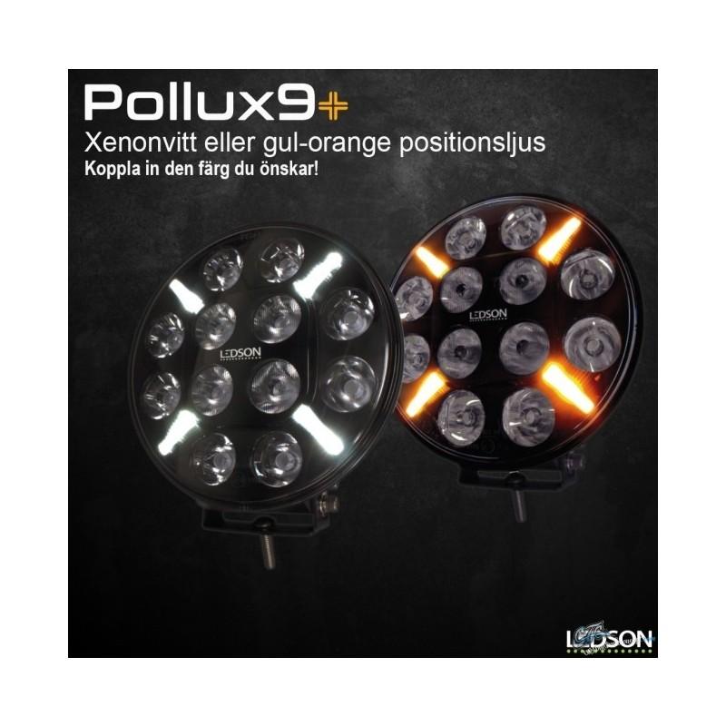 PHARE LONGUE PORTEE LEDSON POLLUX FULL LEDS VEILLEUSE ORANGE/BLANCHE