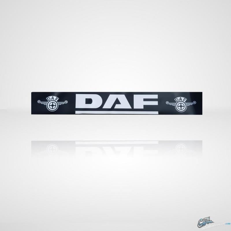 BAVETTE NOIRE MARQUAGE DAF BLANC 2500 X 3800