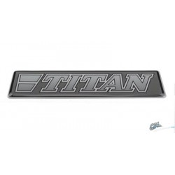 STICKER 3D TITAN GRIS