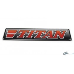 STICKER 3D TITAN ROUGE