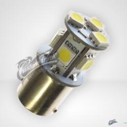AMPOULE 9 LEDS BLANCHE T18-01 24VOLTS X 2