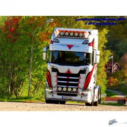VISIERE SCANIA NTG 350MM 6 VEILLEUSES