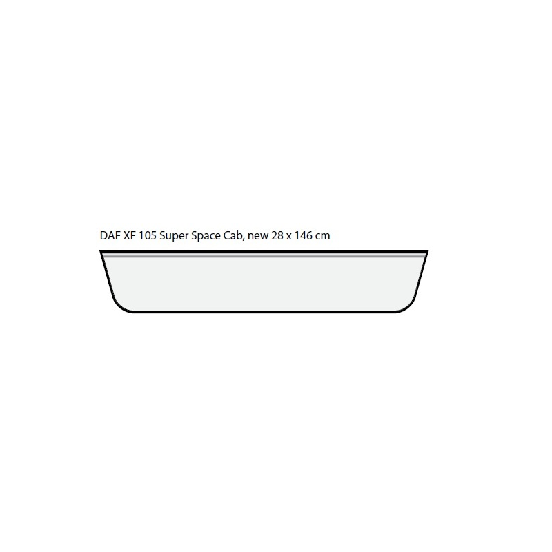 ENSEIGNE LUMINEUSE LEDS SCANIA R & R2 TOPLINE 164 X 25