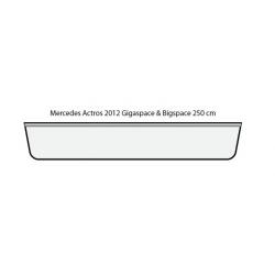 ENSEIGNE LUMINEUSE LEDS MERCEDES ACTROS 2012 STREAMSPACE 250    125 X 20