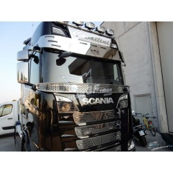 KIT SUPPORT DE VISIÈRE INOX SCANIA NTG