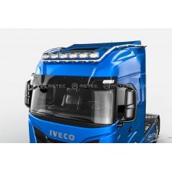 RAMPE DE TOIT INOX IVECO S-WAY HYDRA PRECABLEE 6 SORTIES + LEDS