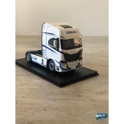 Maquettes Camions Iveco S-Way, autre vue du profil de cabine du Poids Lourd blanc