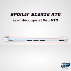 SPOILER SCANIA NEXT GEN AVEC DECOUPE OPTION FEUX NTG