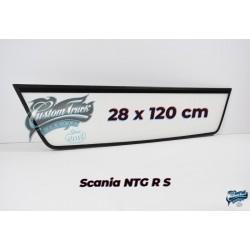 ENSEIGNE LUMINEUSE LED EXTRA PLATE SCANIA NTG S ET R CABINE HAUTE 28 x 120 cm
