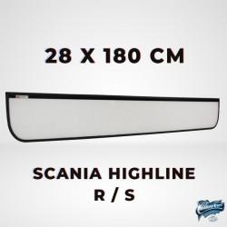 Enseigne lumineuse Scania Highline New Generation S et R taille XXL 28x180cm