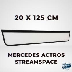 ENSEIGNE LUMINEUSE LEDS MERCEDES ACTROS 2012 STREAMSPACE 250 125 X 20 CM