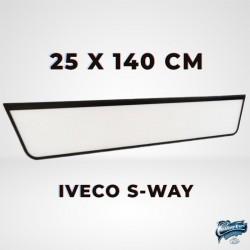 ENSEIGNE LUMINEUSE IVECO S-WAY 25 x 140 cm AVEC LEDS